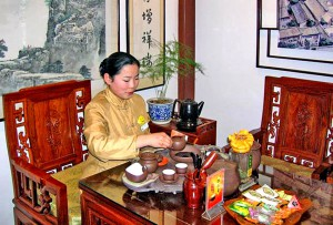 Фото: Китайское чаепитие