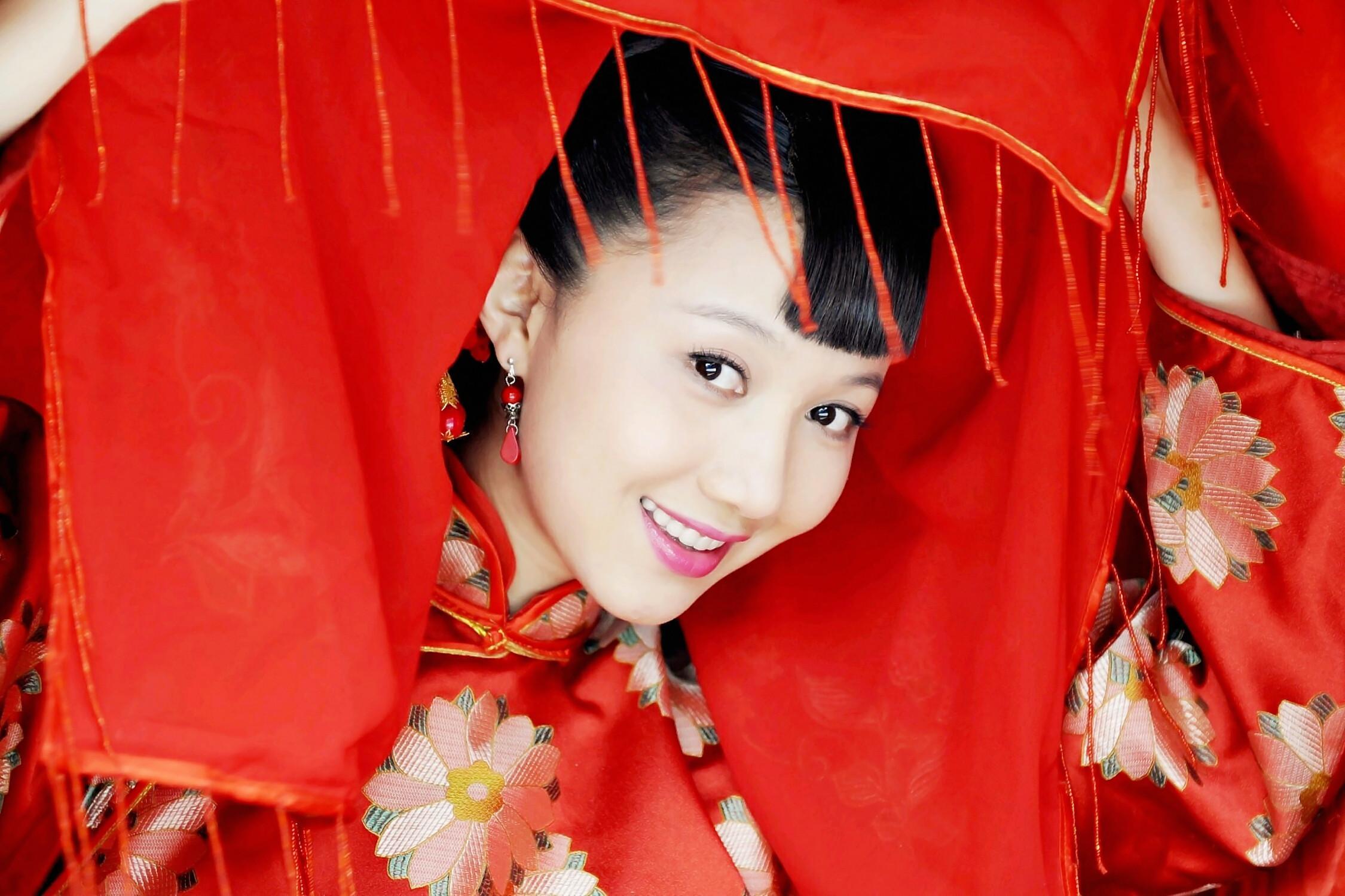 Красивые девушки китая 9 фотография