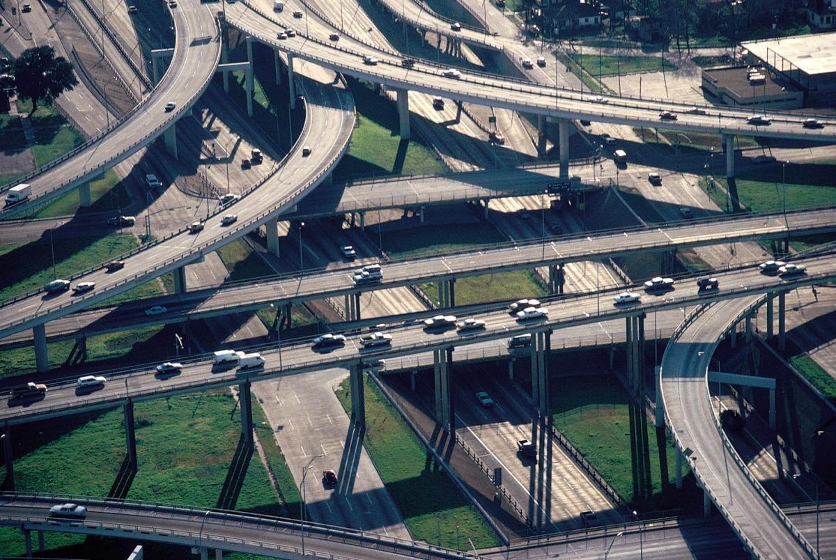 Китайские дорожные развязки фото