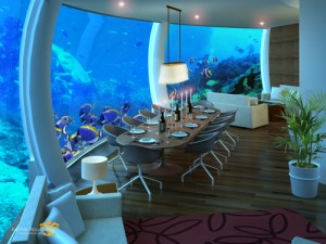 Фото: Ресторан Poseidon Undersea Resort